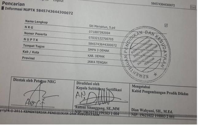 Hasil Konversi NRG Pusbangprodik
